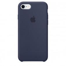 Чехол для iPhone Apple iPhone 8 / 7 Silicone Midnight Blue